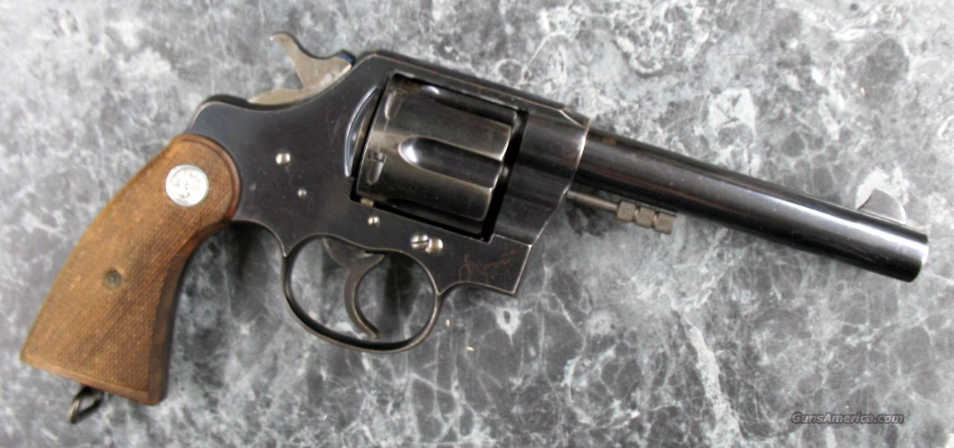 "Colt New Service 45 L.C.5.5"" made in 1914  Guns > Pistols > Colt Double Action Revolvers- Pre-1945"