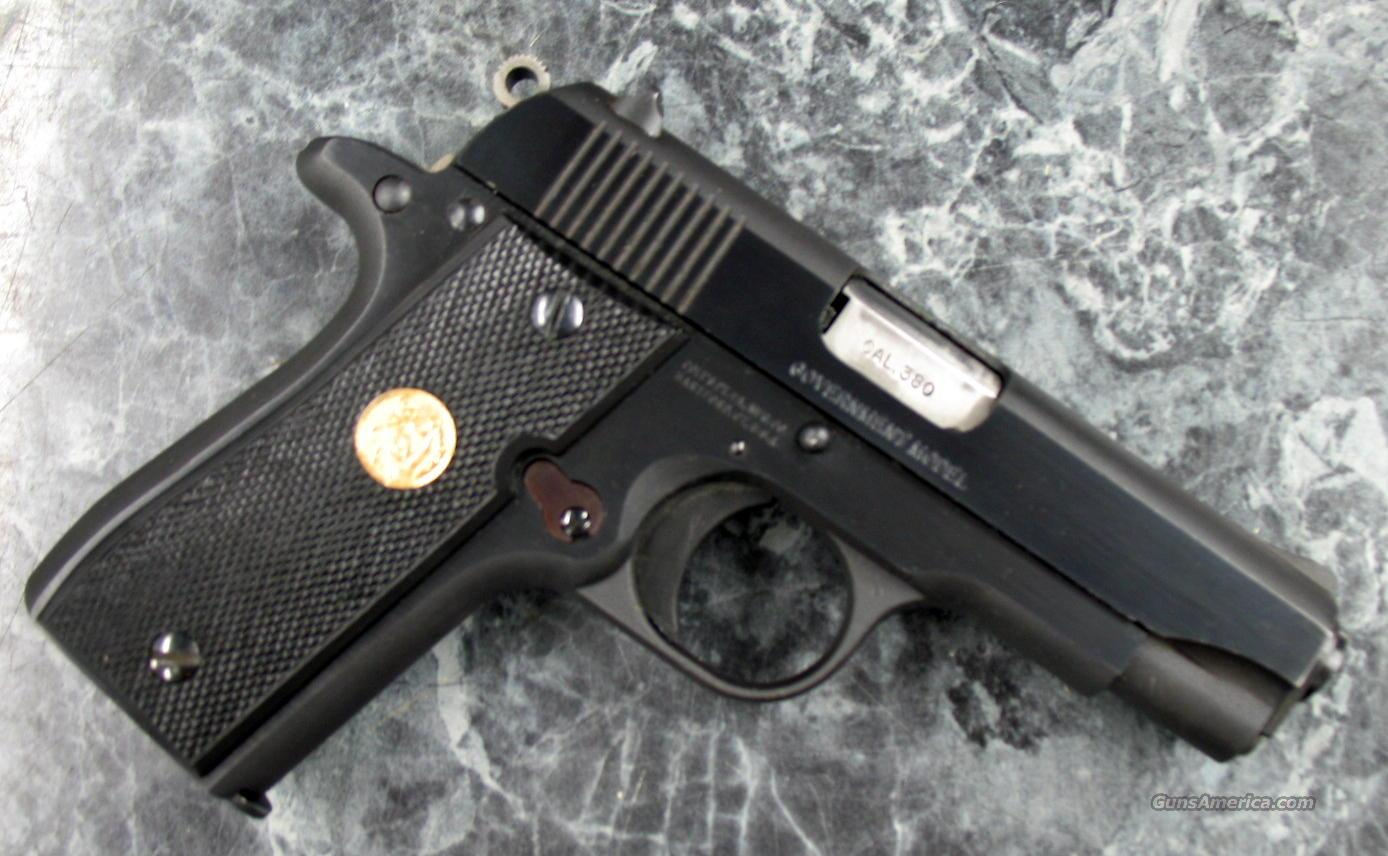 Colt Govt Model 380 Blue w/box Nice!  Guns > Pistols > Colt Automatic Pistols (.25, .32, & .380 cal)