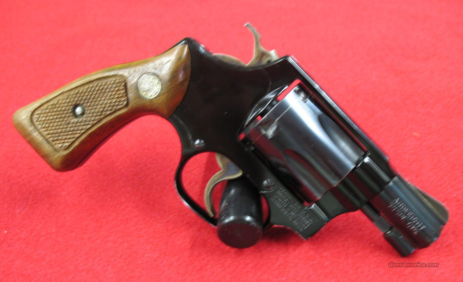 "S&W Md.37 Airweight 38spl. 2"" Blued S.B.""1982""  Guns > Pistols > Smith & Wesson Revolvers > Pocket Pistols"