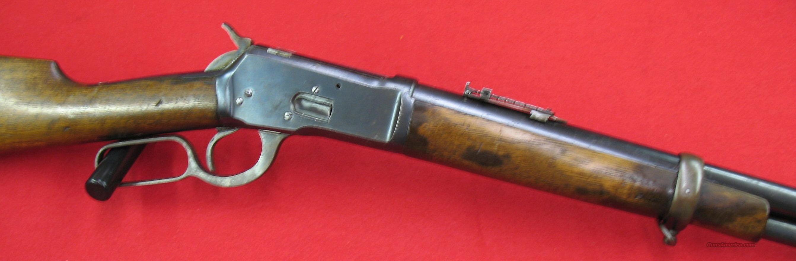 """Tigre"" saddle ring 44-40Win. REDUCED!!  Guns > Rifles > Winchester Replica Rifle Misc."