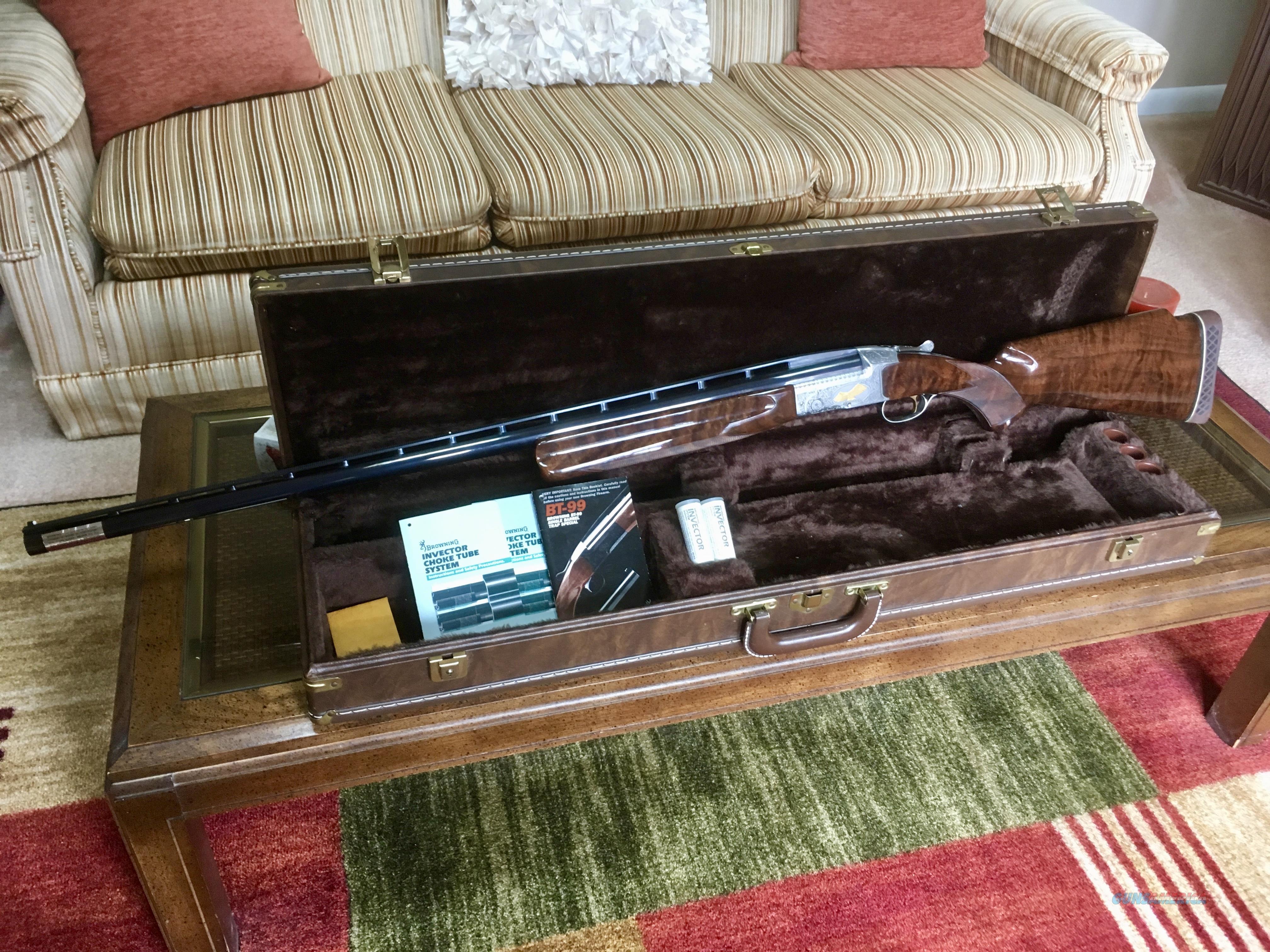 BROWNING BT99 WEST VIRGINIA ATA TRAPSHOOTING HALL OF FAME BT99  Guns > Shotguns > Browning Shotguns > Single Barrel