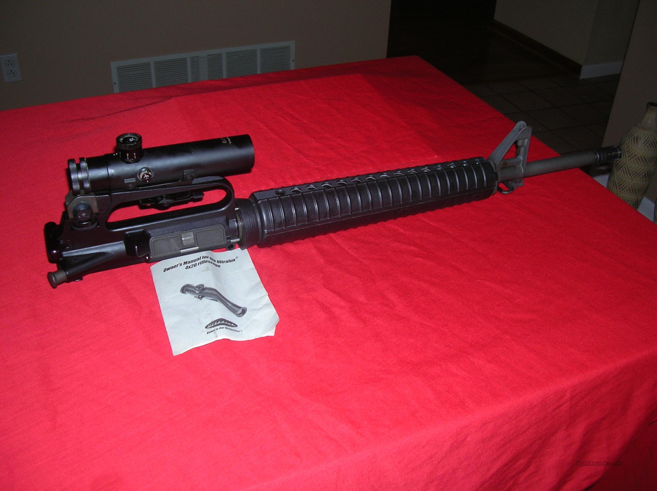 AR15 .223 / 5.56  UPPER BARREL ASSY WITH SCOPE  Non-Guns > Barrels