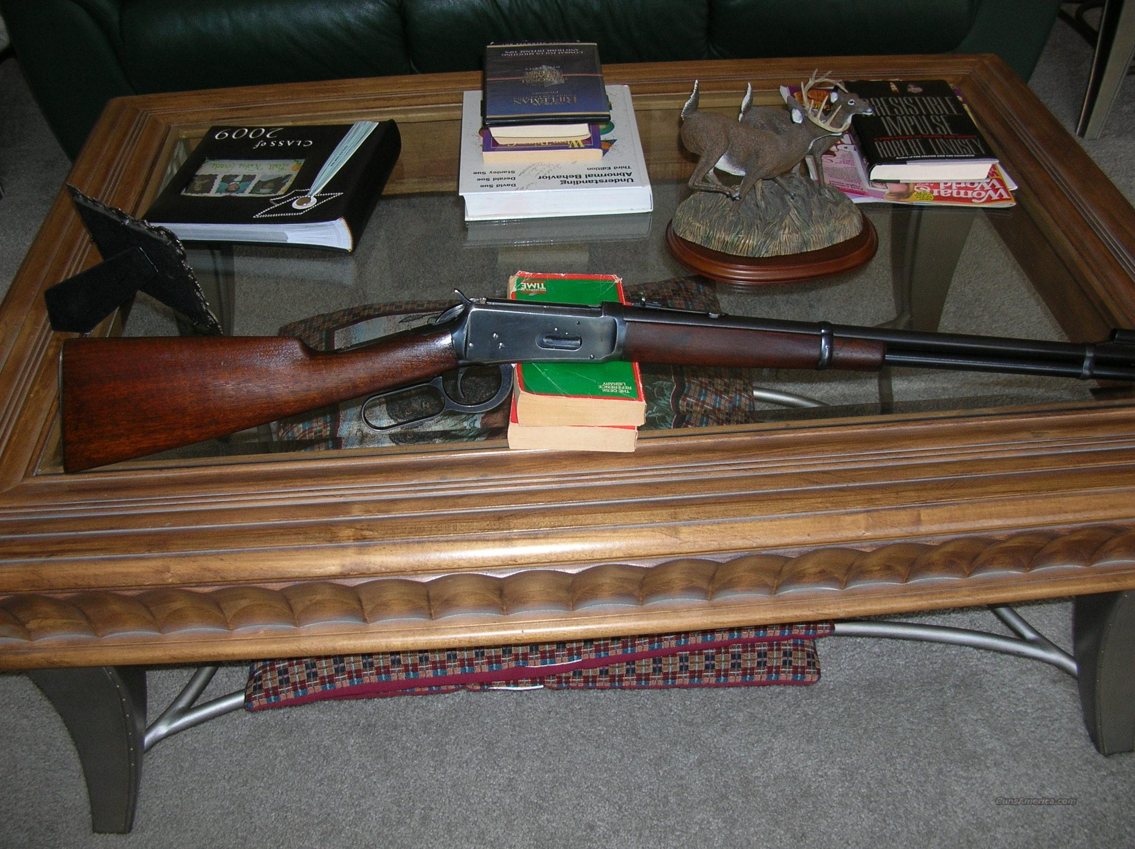 WINCHESTER MODEL 94 32 SPECIAL  Guns > Rifles > Winchester Rifles - Modern Lever > Model 94 > Pre-64