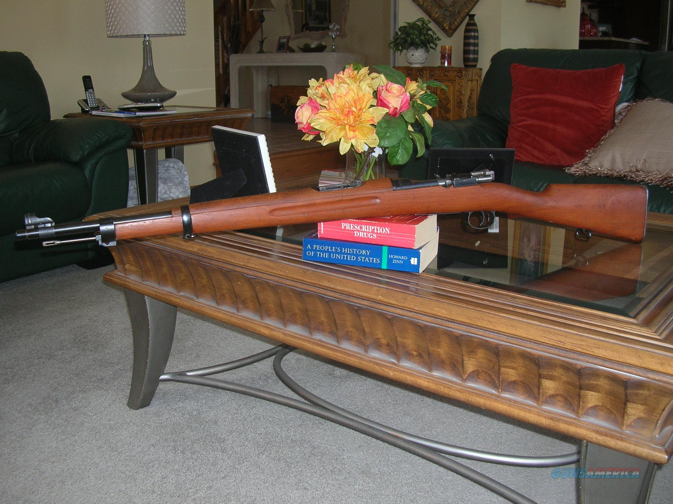 SWEDISH MAUSER MODEL 38 SHORT RIFLE  Guns > Rifles > Military Misc. Rifles Non-US > Other