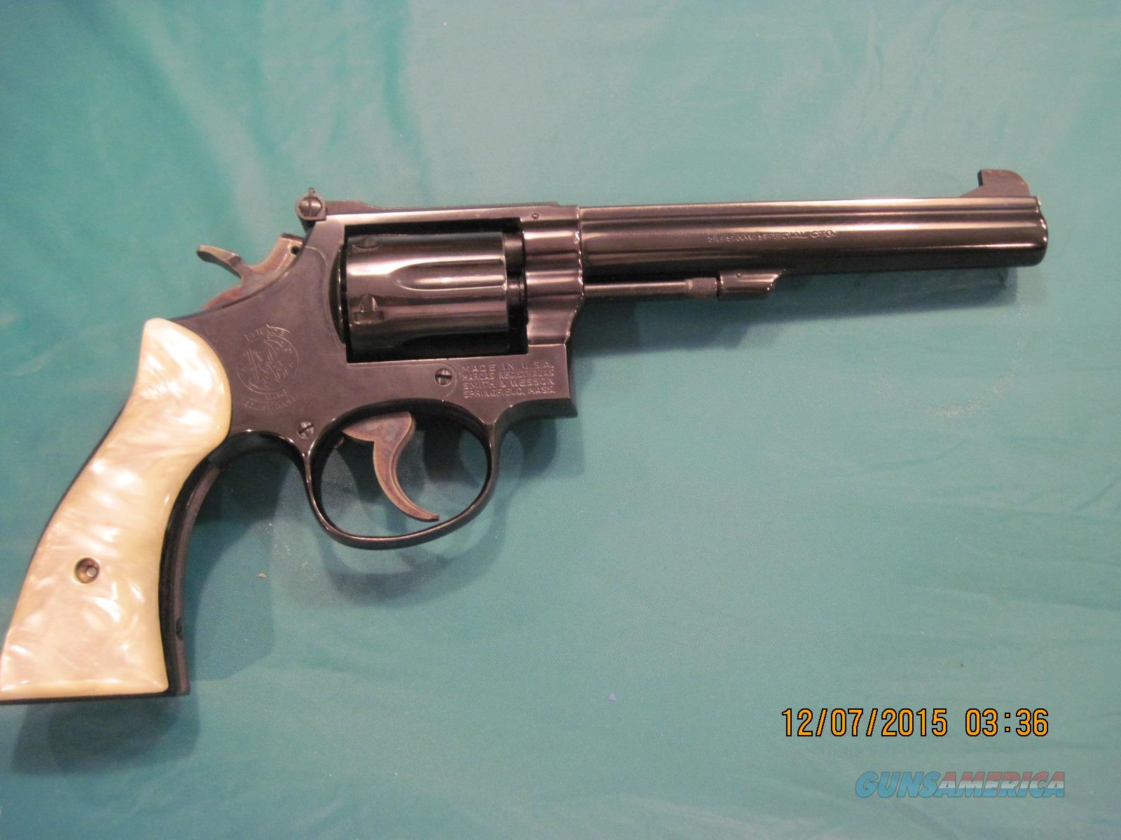 S&W K38 Masterpiece  Guns > Pistols > Smith & Wesson Revolvers > Full Frame Revolver
