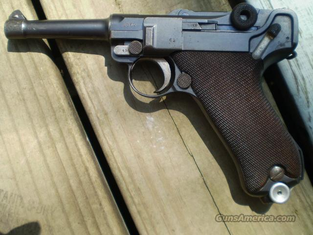 German Luger DMW 1916  Free Shipping  Guns > Pistols > Military Misc. Pistols Non-US