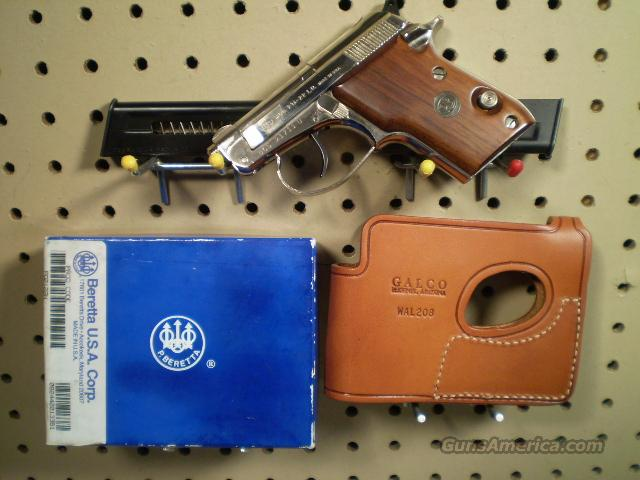 Beretta Model 21a, NICKEL Free Shipping  Guns > Pistols > Beretta Pistols > Small Caliber Tip Out