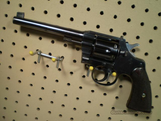 "Colt Offcers Model ""PRE WAR"" 22LR Free Shipping  Guns > Pistols > Colt Double Action Revolvers- Pre-1945"