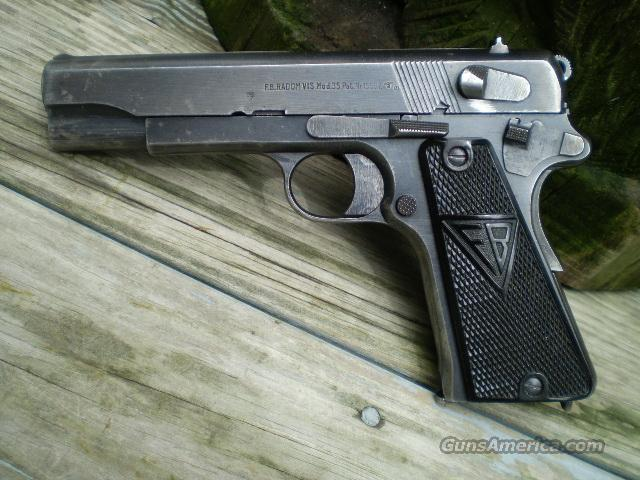 Radom VIS Model 35, 9mm, Early 3 lever Free Shipping  Guns > Pistols > Military Misc. Pistols US > 1911 Pattern