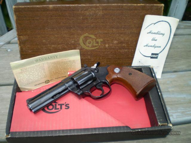"Colt Diamondback 4"" 22 LR Free Shipping  Guns > Pistols > Colt Double Action Revolvers- Modern"