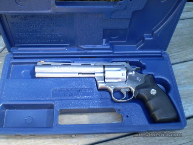 Colt Anaconda Stainless 44 Mag   Free Shipping  Guns > Pistols > Colt Double Action Revolvers- Modern