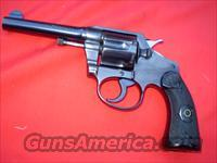 "Colt Police Positive,  4"" barrel, 38 S&W,  FREE SHIPPING  Guns > Pistols > Colt Double Action Revolvers- Pre-1945"