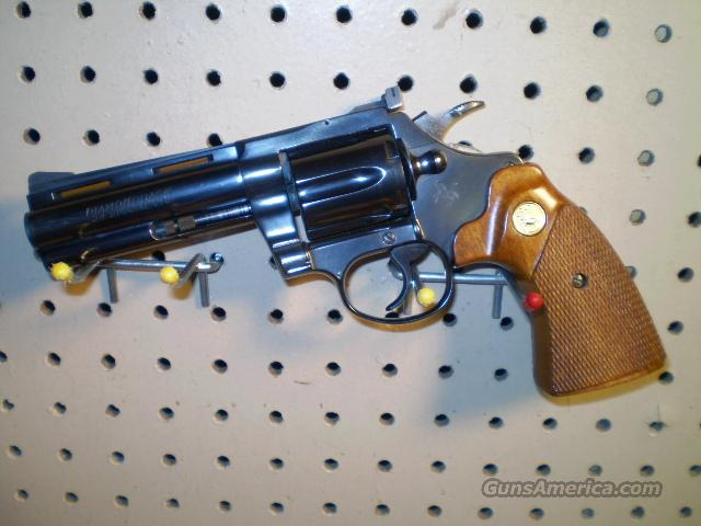"Colt Diamond Back 4"" 38 spec Free Shipping  Guns > Pistols > Colt Double Action Revolvers- Modern"