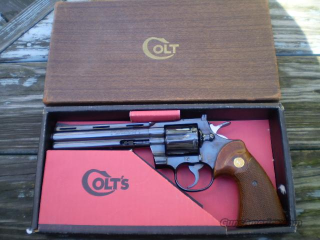Colt Python 1963 Vintage   FREE SHIPPING  Guns > Pistols > Colt Double Action Revolvers- Modern