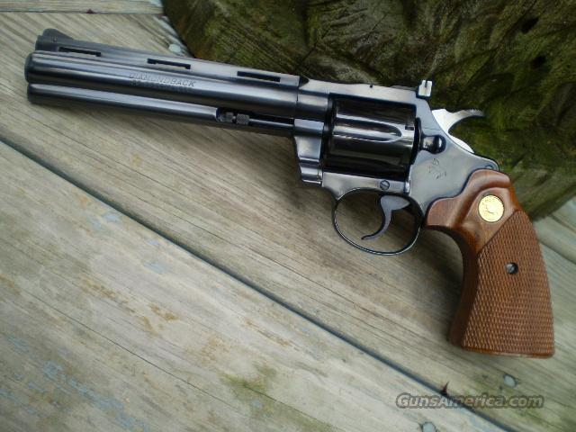 "Colt Diamondback 6"" 38 Special  Free Shipping  Guns > Pistols > Colt Double Action Revolvers- Modern"