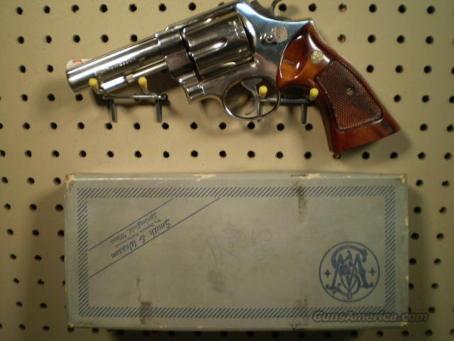 Smith & Wesson Model 58 NICKEL- FREE SHIPPING  Guns > Pistols > Smith & Wesson Revolvers > Full Frame Revolver
