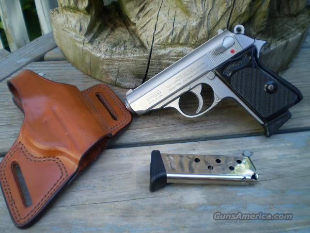 Walther PPK .380acp, Stainless Steel  Free Shipping  Guns > Pistols > Walther Pistols > Post WWII > PP Series
