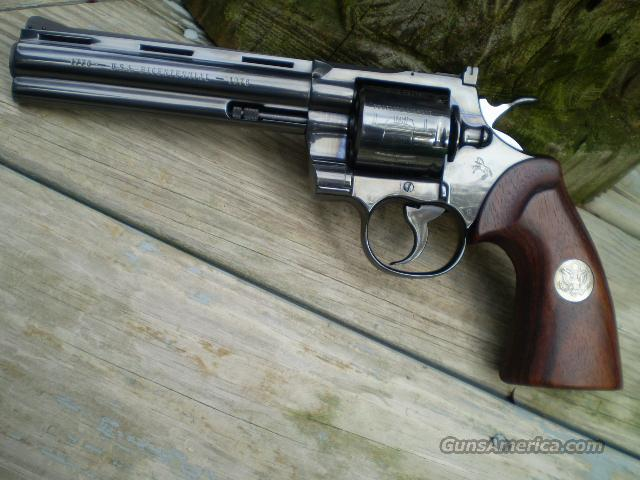 "Colt Bicentennial Python 6"" Free Shipping  Guns > Pistols > Colt Double Action Revolvers- Modern"
