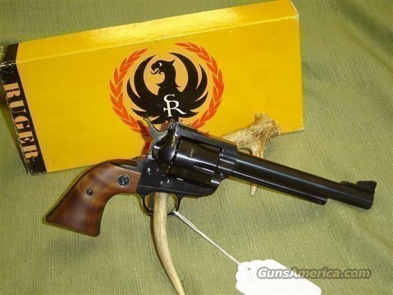 "Ruger Blackhawk .357/9mm Convertible cal 3 screw 6.5"" Revolver  Guns > Pistols > Ruger Single Action Revolvers > Blackhawk Type"