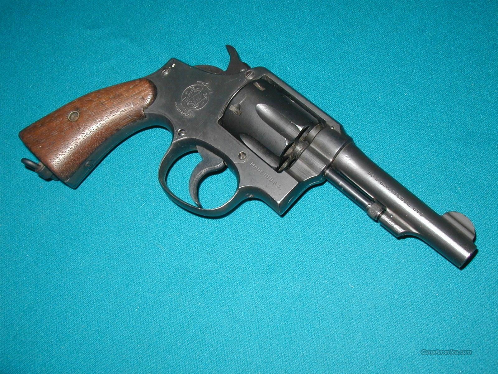 S&W WW2 U.S. NAVY VICTORY MODEL  Guns > Pistols > Smith & Wesson Revolvers > Pre-1945