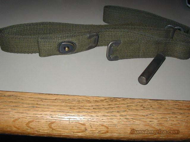 WW2 M-1 CARBINE SLING & OILER, EXC.  Guns > Rifles > Military Misc. Rifles US > M1 Carbine