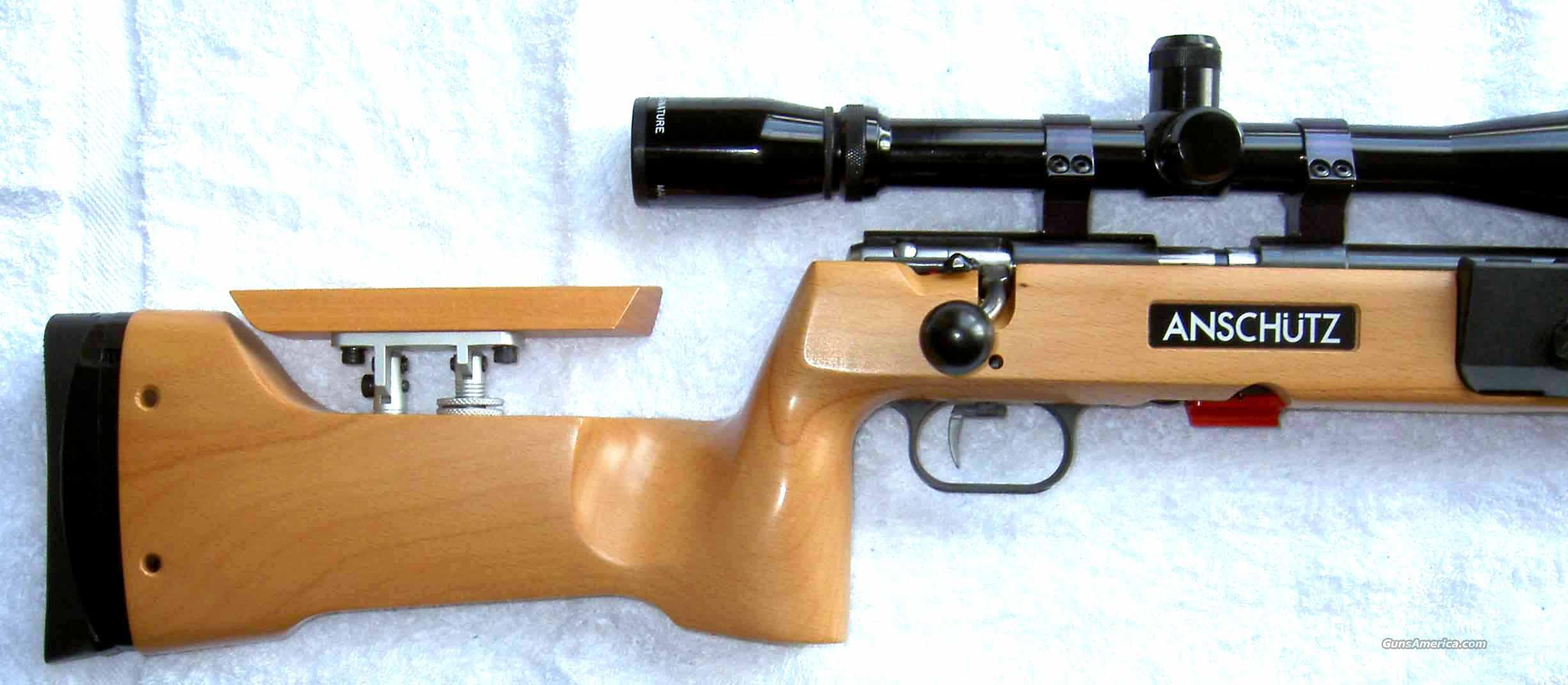 Anschutz 64r Biathlon W Adjustable Cheek Piece For Sale
