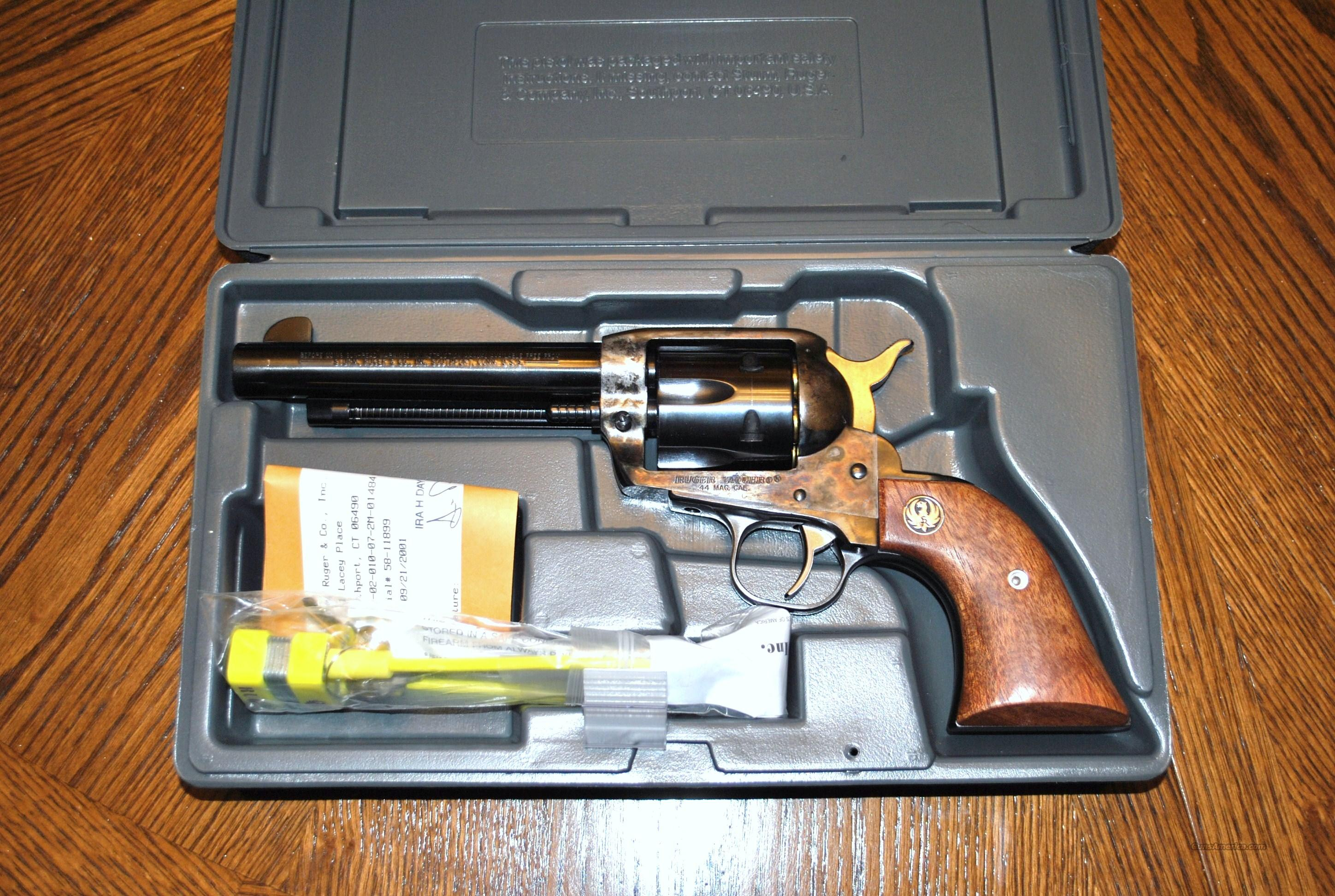 "RUGER Original VAQUERO 5 1/2"", 44 mag  Guns > Pistols > Ruger Single Action Revolvers > Cowboy Action"