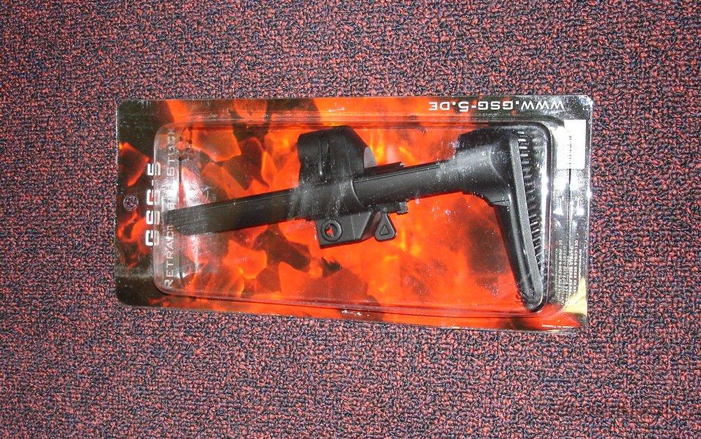 GSG 5 (GSG5) Factory Collapsible Stock - New in Box