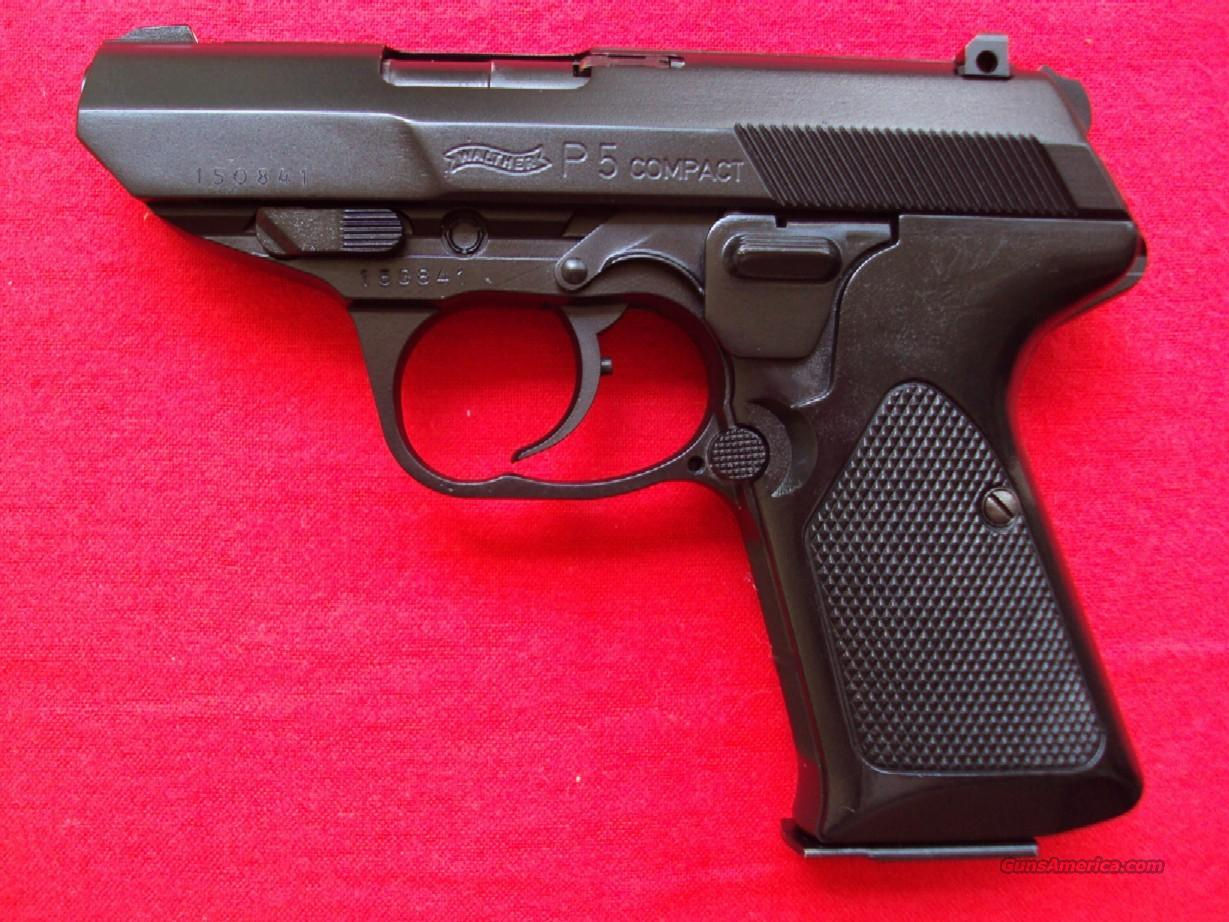 Walther P5 Compact 2 Mags Test Trgt Exc Cond $1149  Guns > Pistols > Walther Pistols > Post WWII > Large Frame Autos