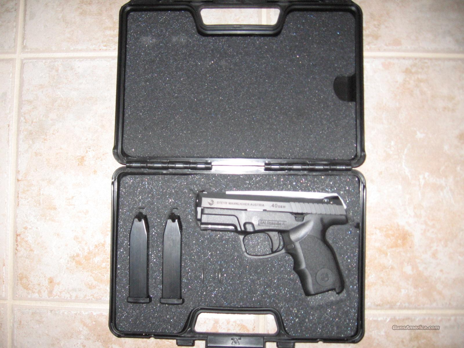 Steyr S40-A1  Guns > Pistols > Steyr Pistols