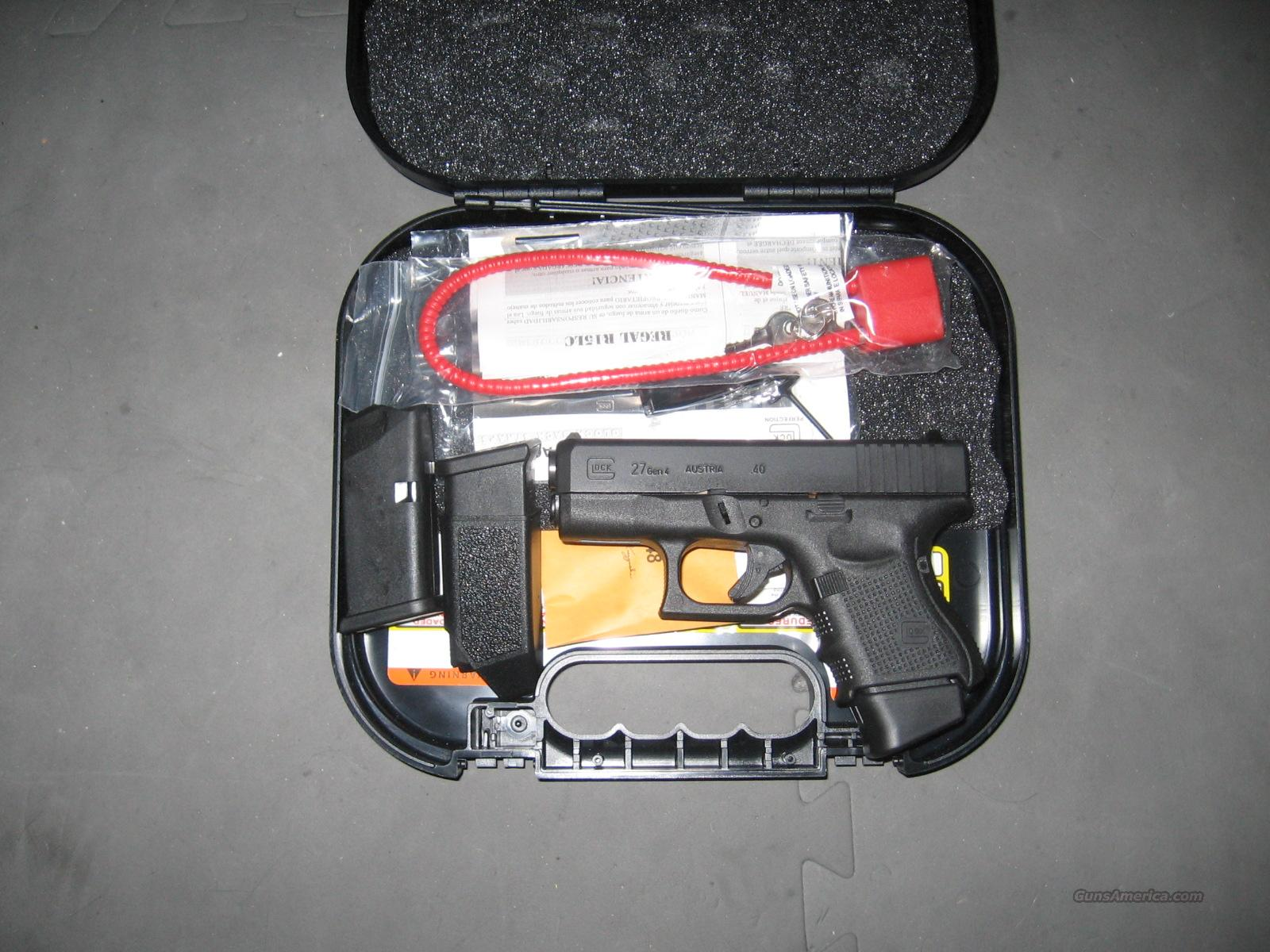 Glock 27 gen 4  Guns > Pistols > Glock Pistols > 26/27