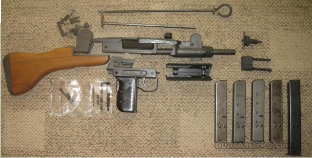 UZI Parts Kit  Non-Guns > Military > De-Milled Weapons