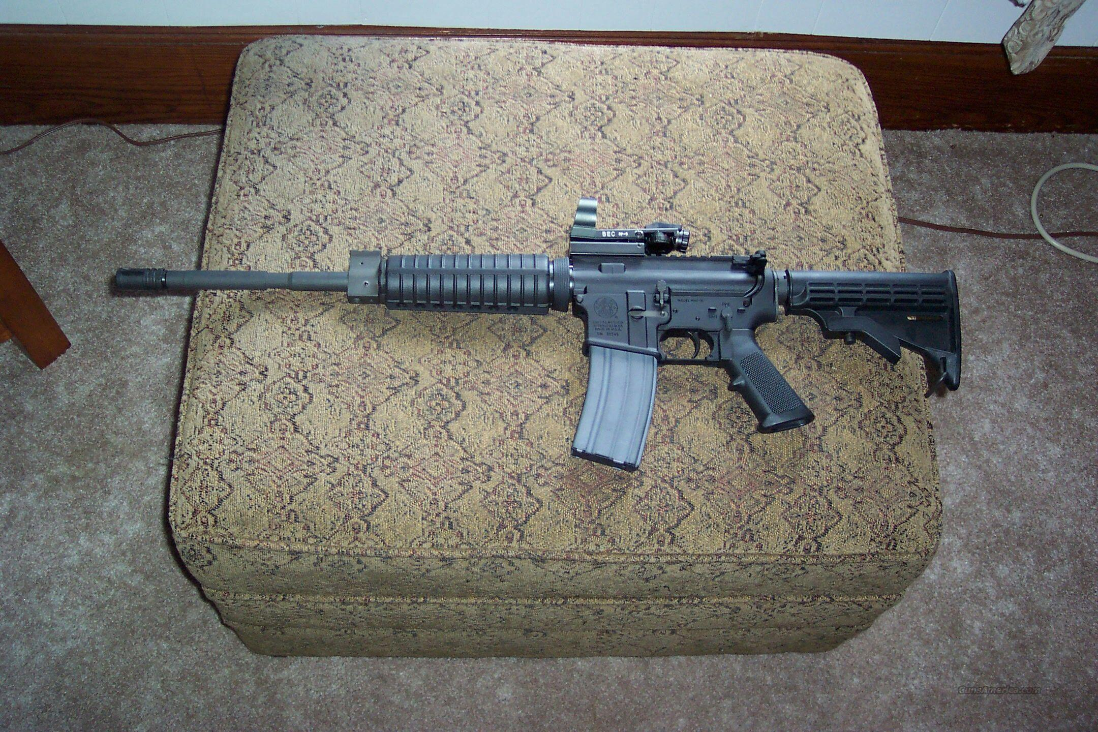 S&W M&P-15 ORC with Optics  Guns > Rifles > Smith & Wesson Rifles > M&P