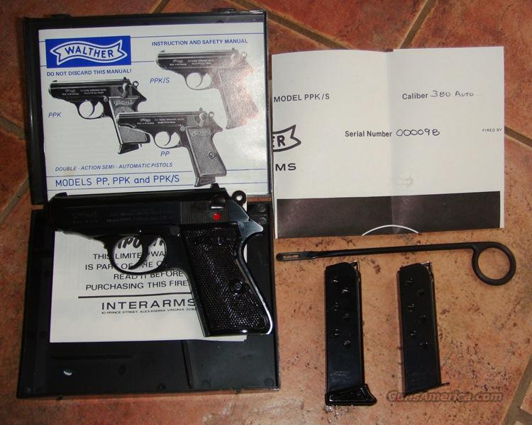 walther ppk manuale