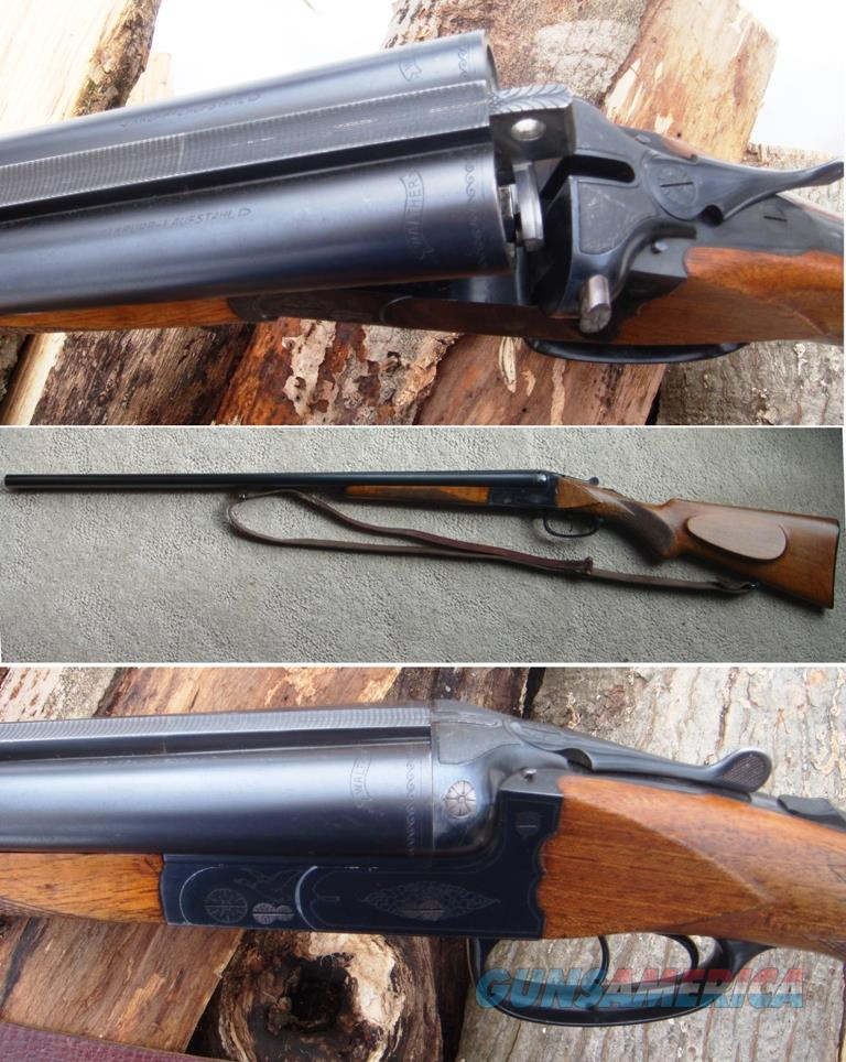 WALTHER SxS Model 80 16 Ga Military Proofed  Guns > Shotguns > A Misc Shotguns