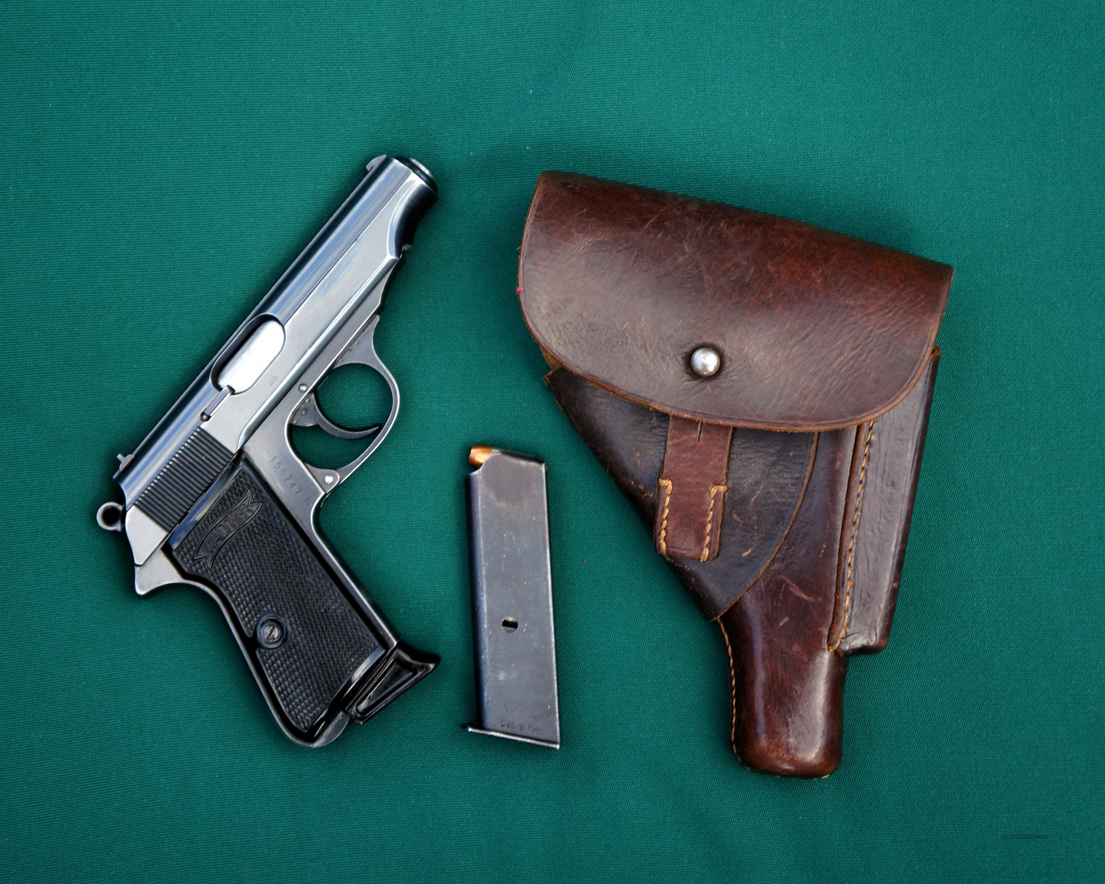 Walther PP 9mm Akah Mag Edge Holster  Guns > Pistols > Walther Pistols > Post WWII > P38