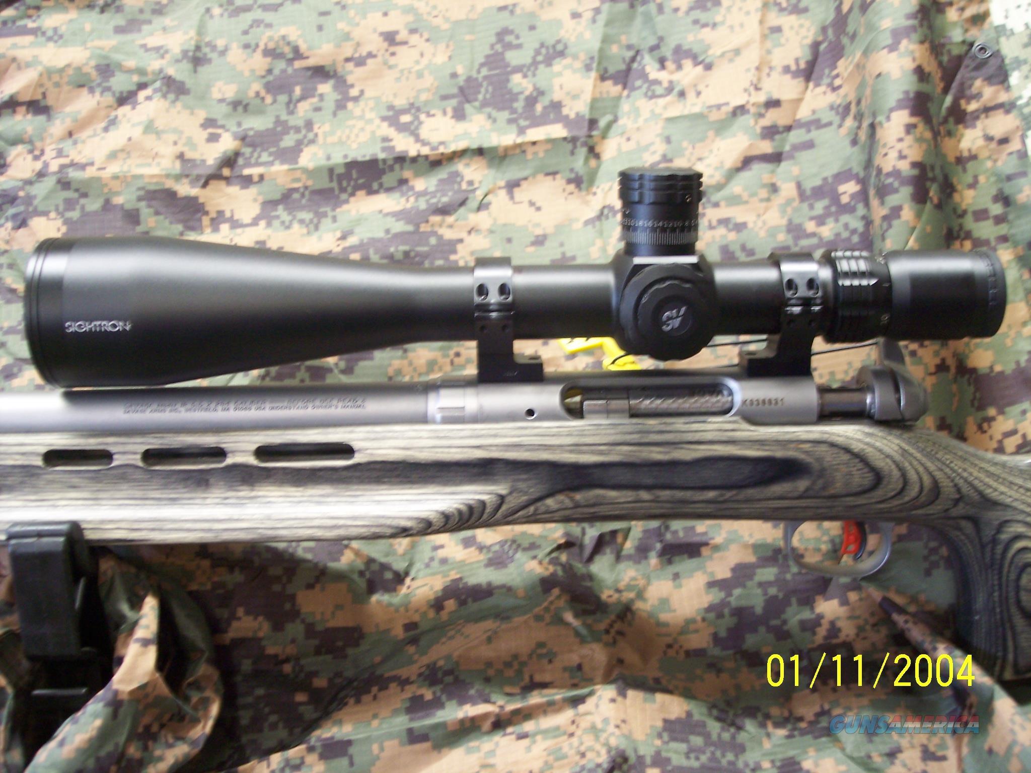 Sightron SV Long Range Target scope  Non-Guns > Scopes/Mounts/Rings & Optics > Tactical Scopes > Variable Recticle