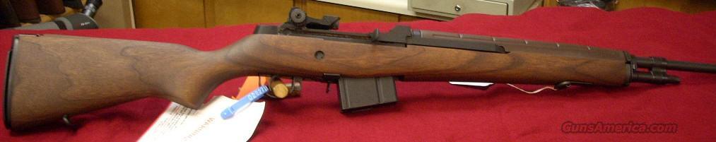 Springfield Armory M1A Walnut Loaded NM  Guns > Rifles > Springfield Armory Rifles > M1A/M14