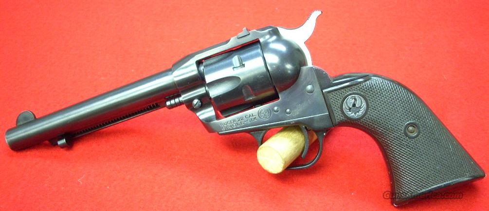 Ruger Single Six MFG. 1957 Blue  Guns > Pistols > Ruger Single Action Revolvers > Single Six Type