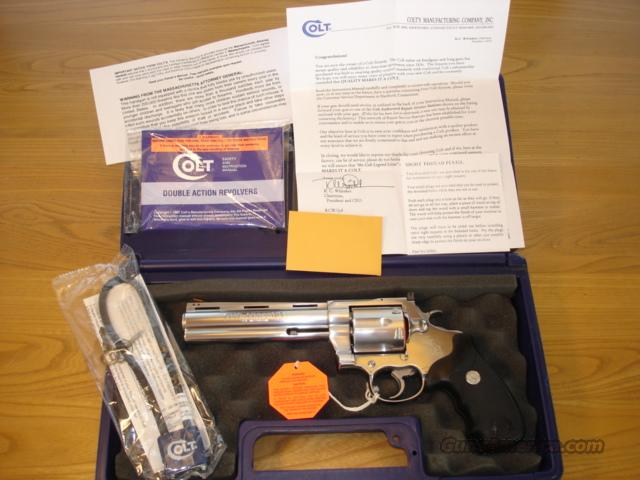 "COLT CUSTOM SHOP ANACONDA .44 MAGNUM 6"" STAINLESS ************LIKE NEW IN BOX************   Guns > Pistols > Colt Double Action Revolvers- Modern"