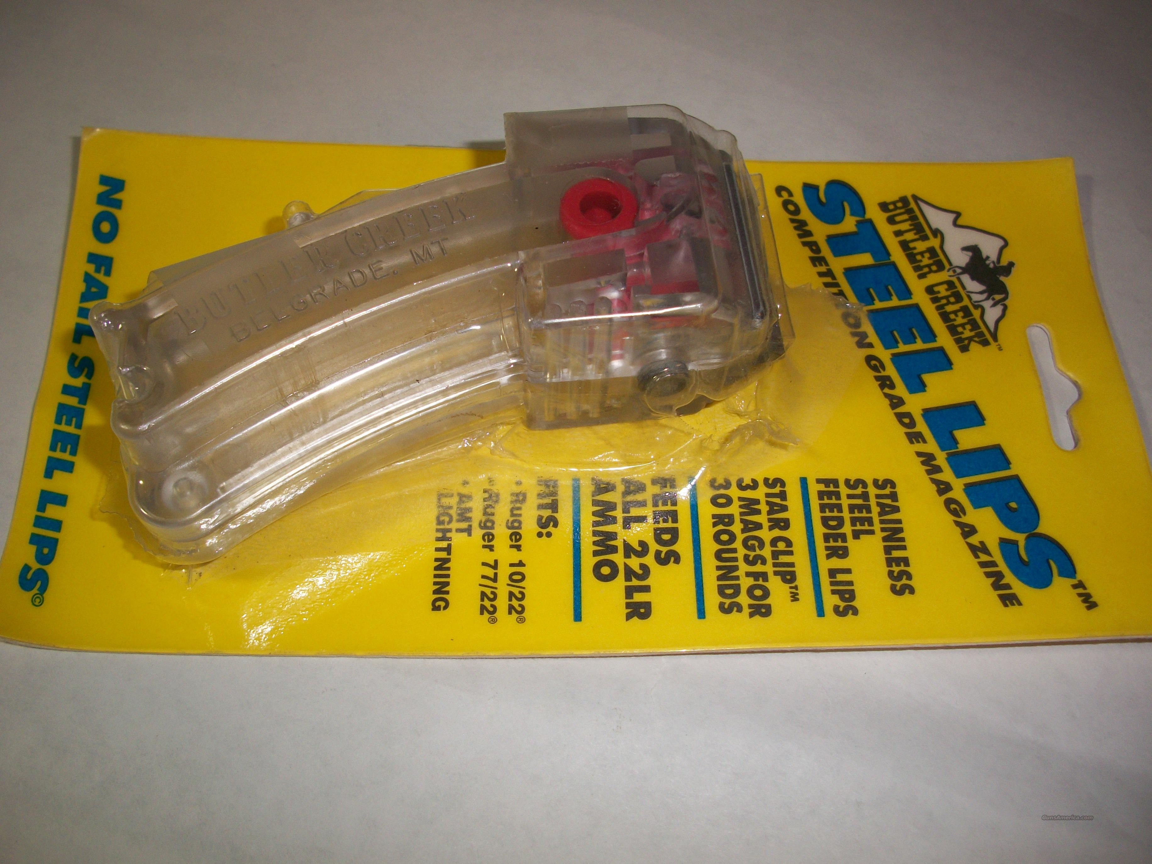Ruger 10/22 Steel Lips Magazine 10 Rnd  Non-Guns > Magazines & Clips > Rifle Magazines > Other