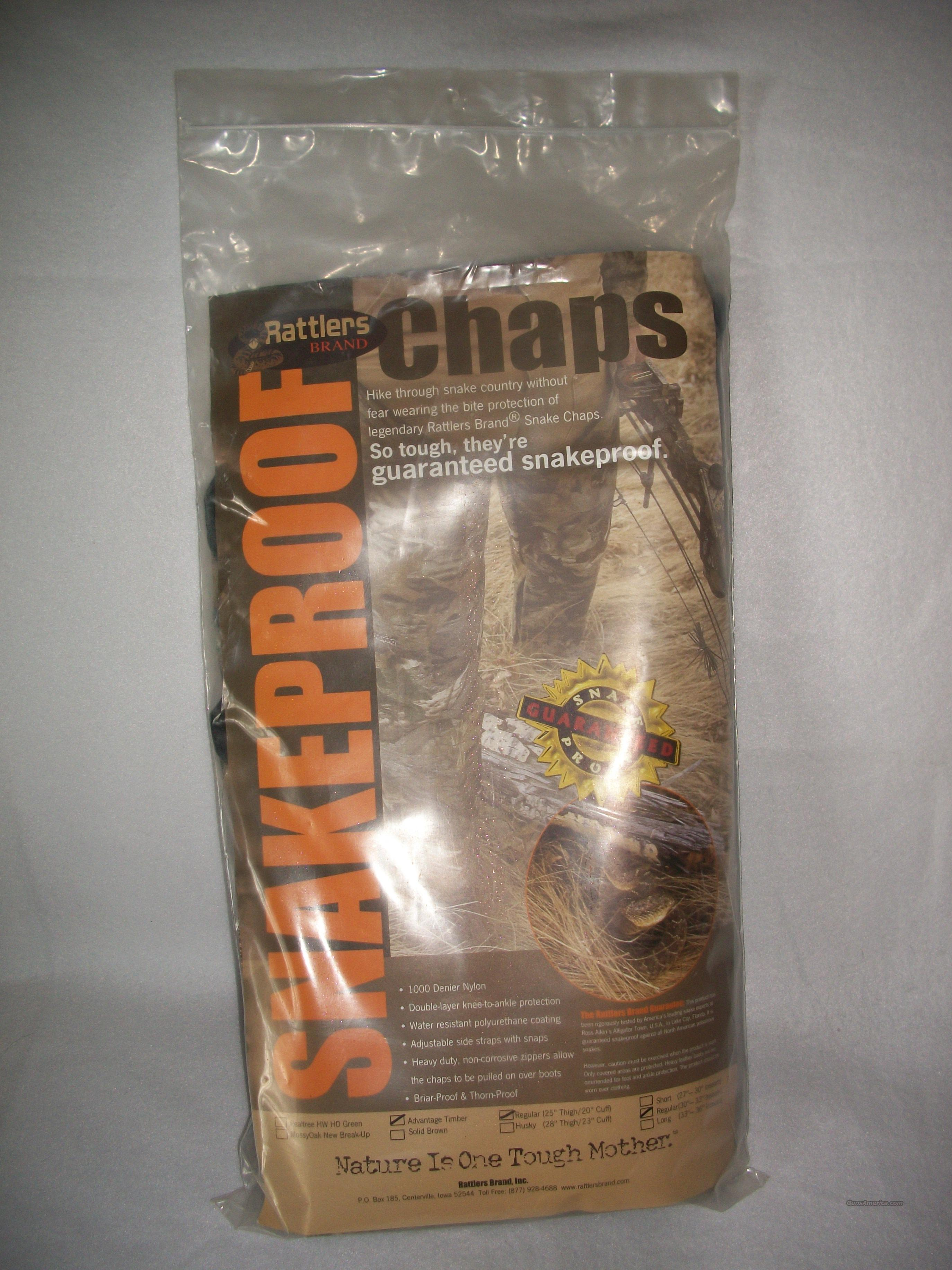 Rattlers Snake Chaps   Non-Guns > Hunting Clothing and Equipment > Clothing > Camo Outerwear