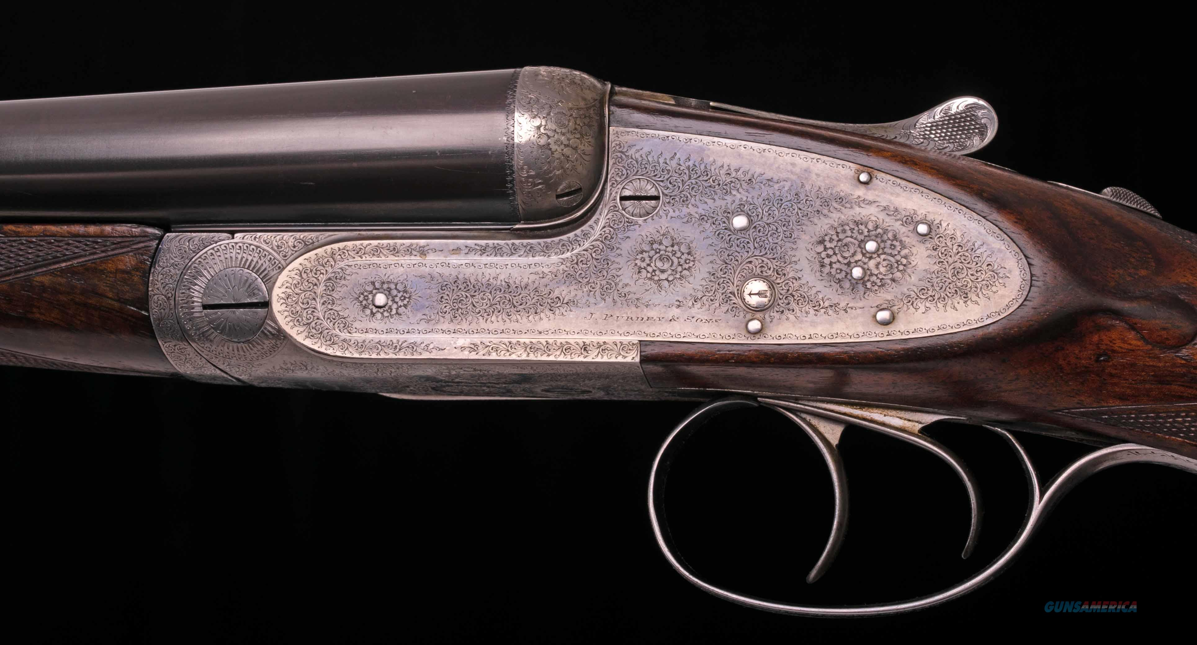 Purdey Best 12 Bore - SELF OPENING, CASED, IN PROOF, ANTIQUE, vintage firearms inc  Guns > Shotguns > Purdy Shotguns