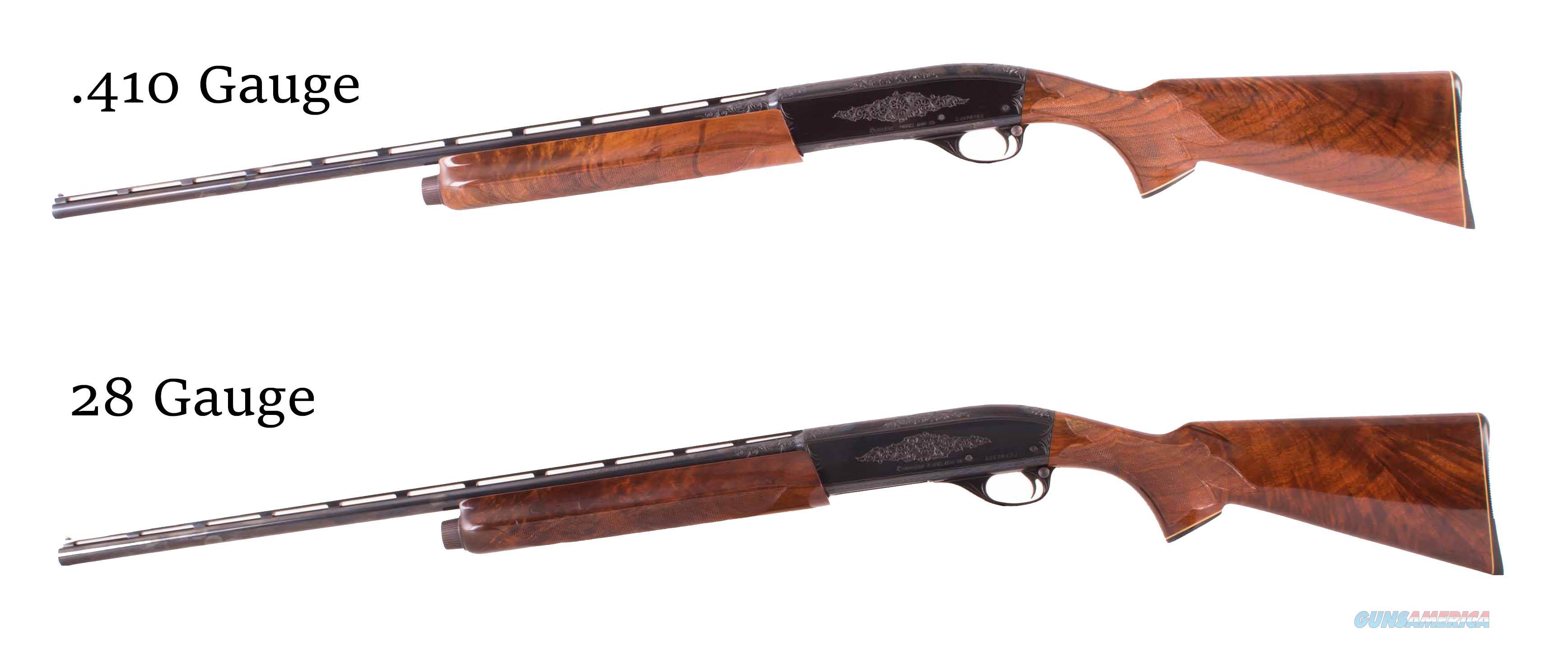 Remington Model 1100 - D GRADE, CONSECUTIVELY NUMBERED PAIR, .410, 28 GAUGE, AS NEW, vintage firearms inc  Guns > Shotguns > Remington Shotguns  > Single Barrel