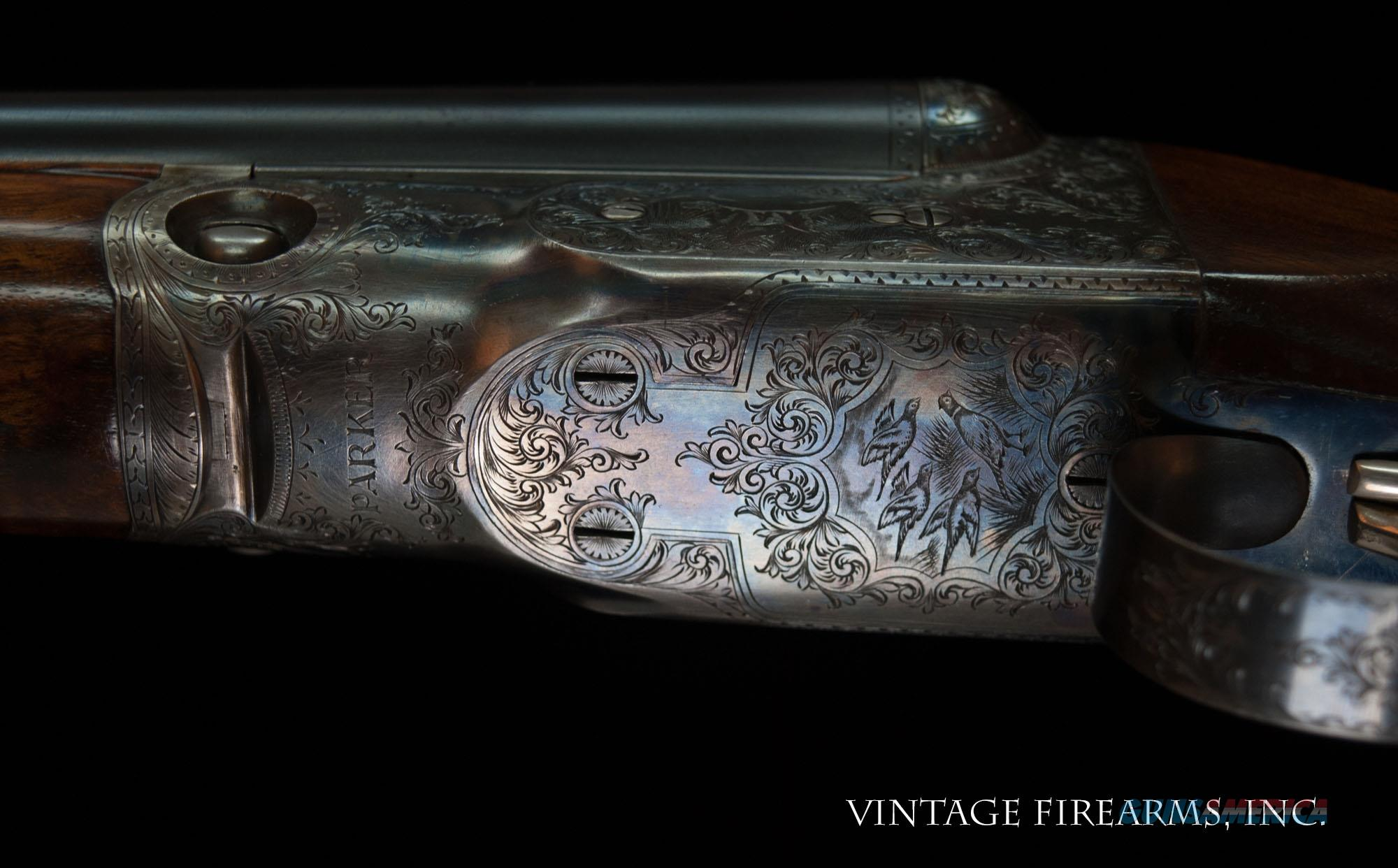 Parker DHE 20 Gauge - CONDITION, 99% CASE COLOR BEST ENGRAVING   Guns > Shotguns > Parker Shotguns