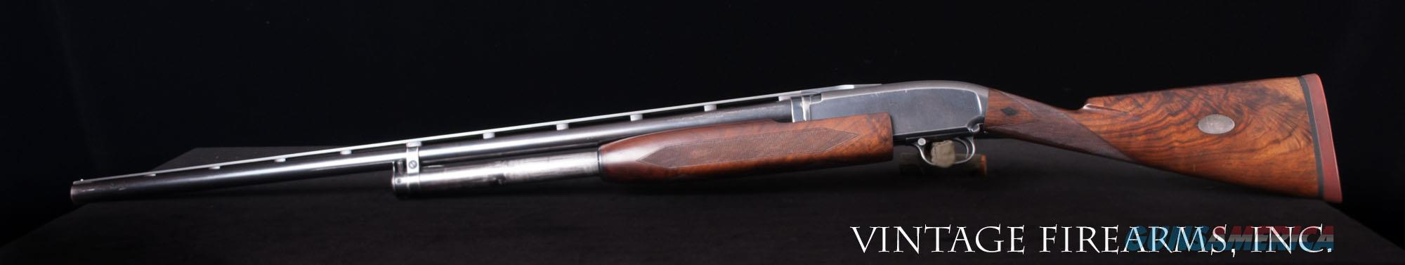 Winchester Model 12 – BLACK DIAMOND TRAP, 12 GAUGE DUCK BILL VENT RIB; FACTORY ORIGINAL   Guns > Shotguns > Winchester Shotguns - Modern > Pump Action > Trap/Skeet