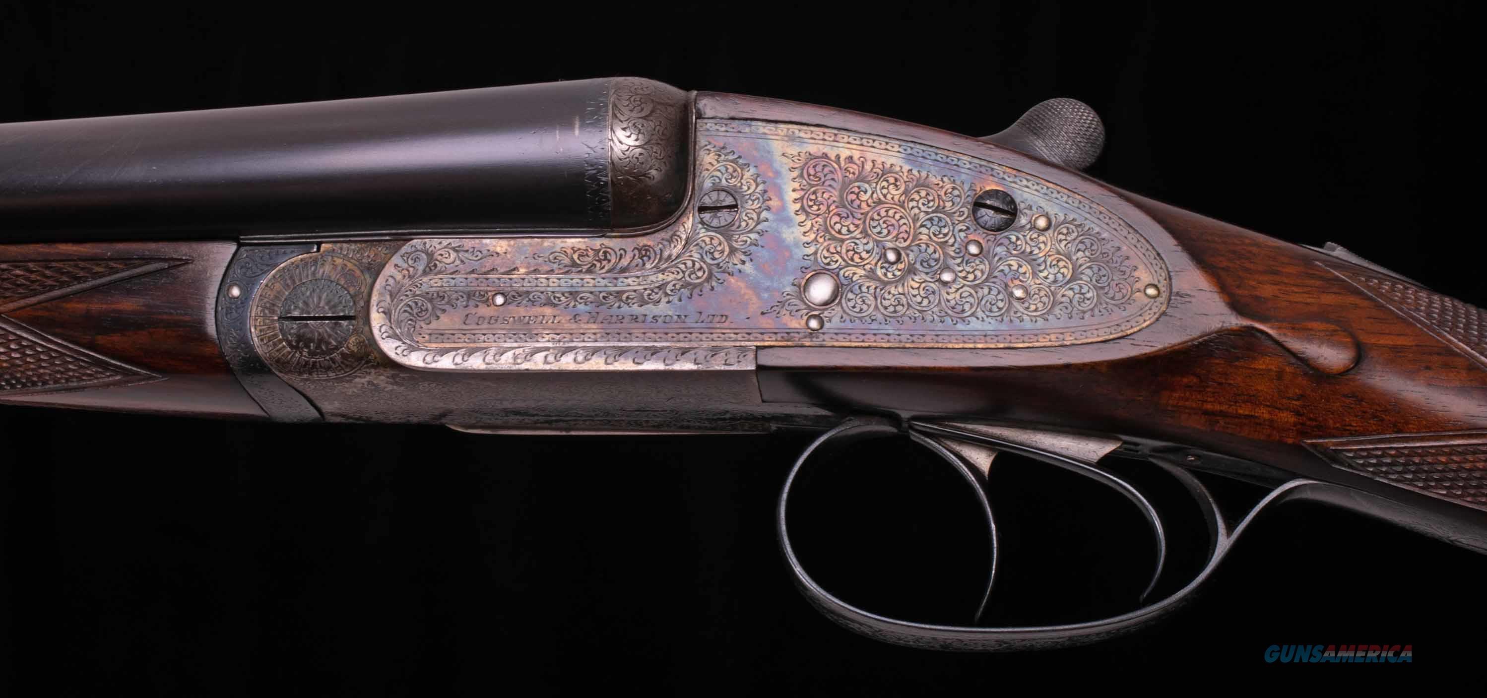 Cogswell & Harrison 20 Bore – LONDON SIDELOCK, CASED, 98%, 5LBS. 10oz., vintage firearms inc  Guns > Shotguns > Double Shotguns (Misc.)  > English