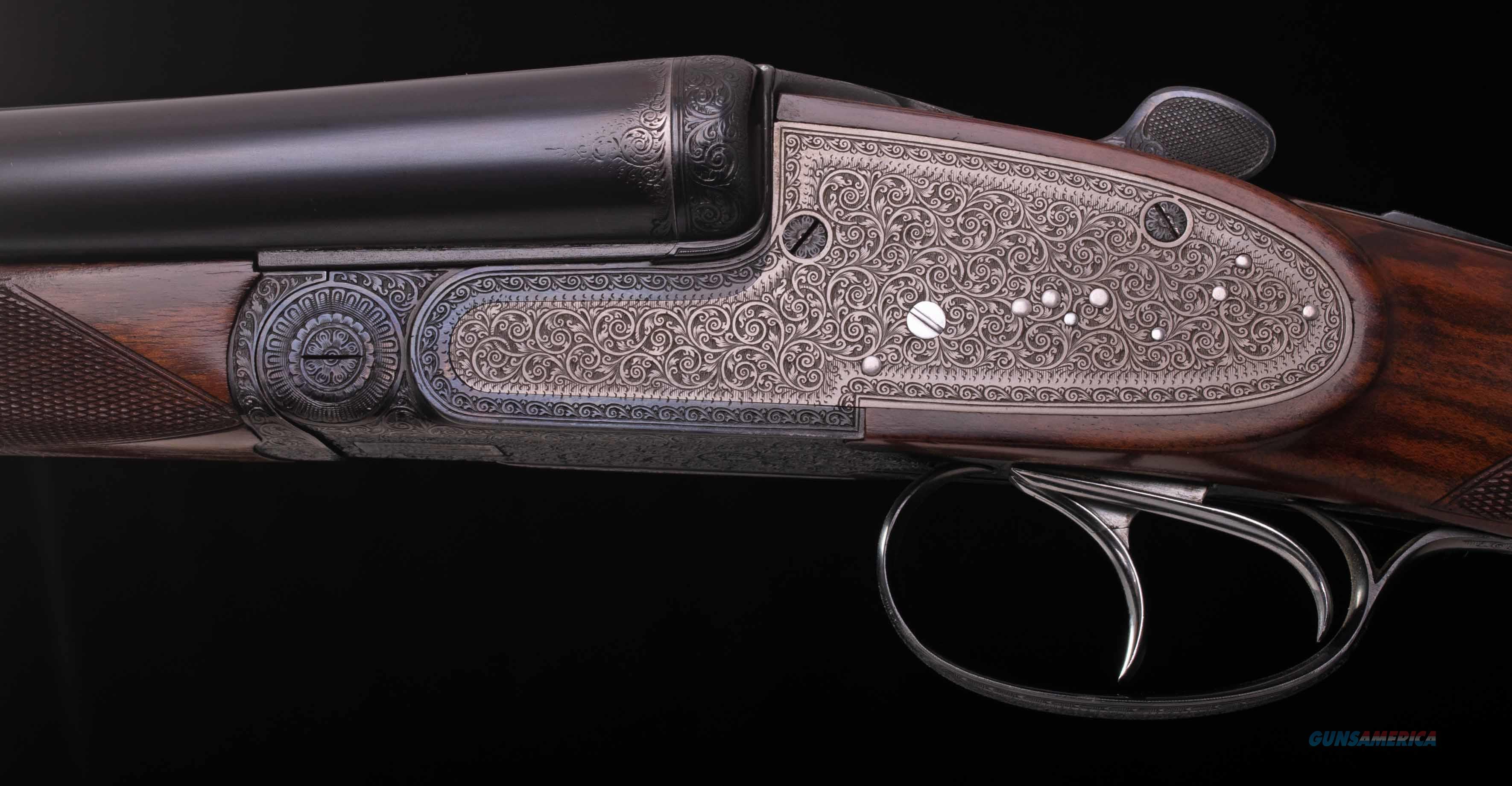 Richard Fanzoi 12 Bore – FERLACH AUSTRIA, SIDELOCK, 6 1/4LBS, vintage firearms inc  Guns > Shotguns > Double Shotguns (Misc.)  > English