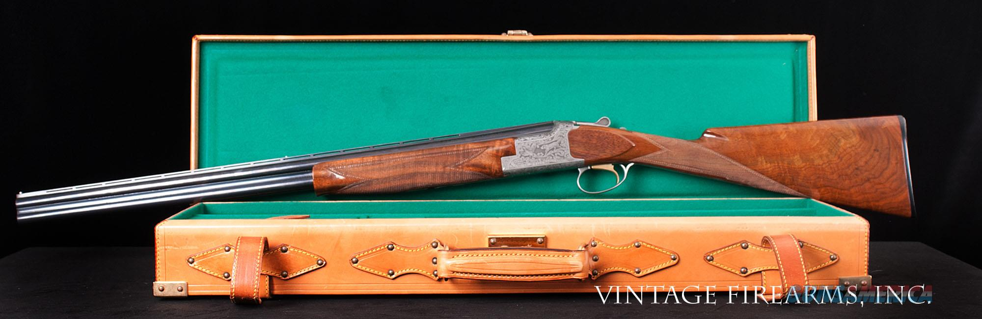 Browning Superposed Classic 20 Gauge – SUPERLIGHT, NEW, LEATHER CASE, 6LBS., 1 OF 2500   Guns > Shotguns > Browning Shotguns > Over Unders > Belgian Manufacture