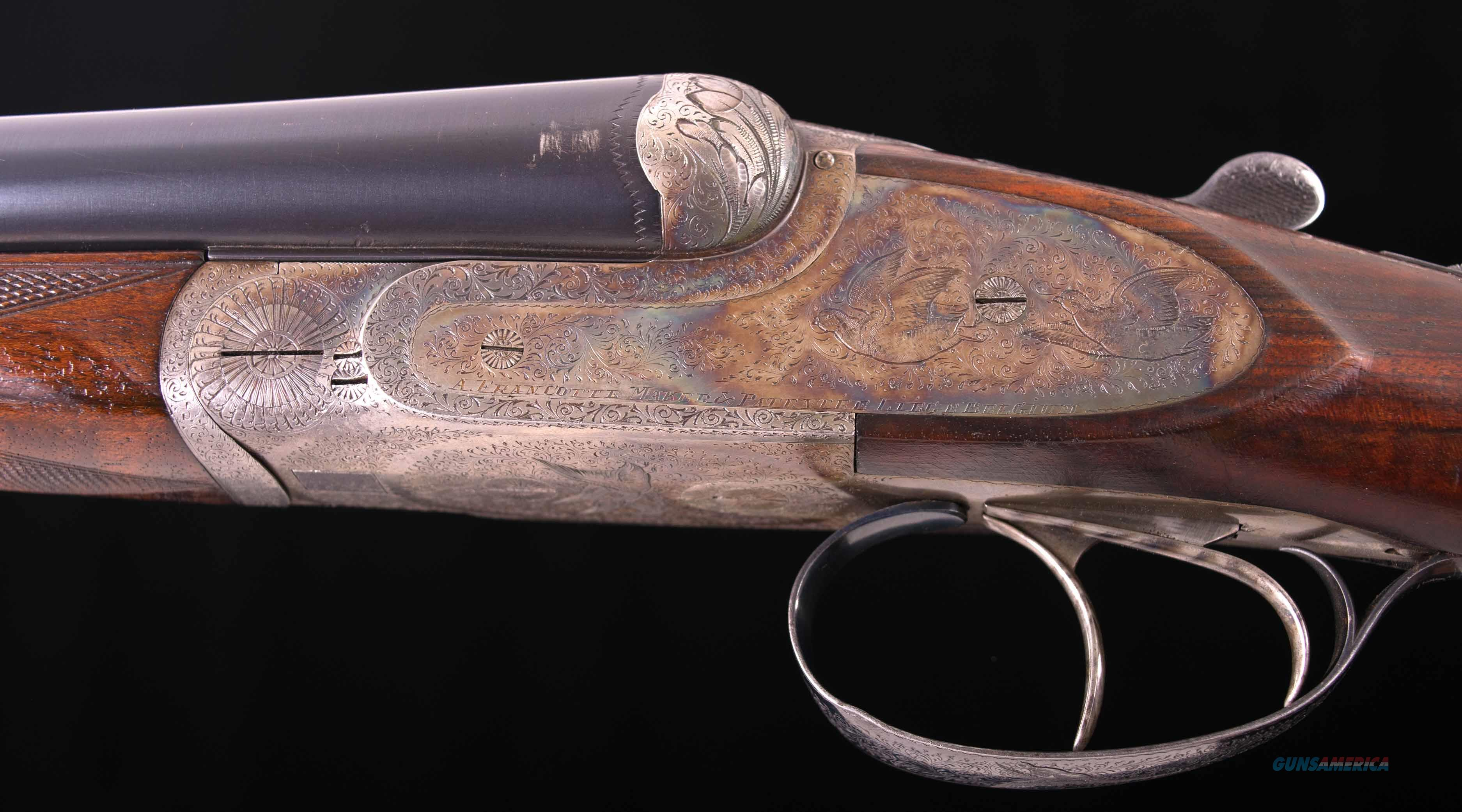 Francotte Model 30E 16 Gauge - ULTRA-LIGHT, GORGEOUS WOOD, 1931, vintage firearms inc   Guns > Shotguns > Francotte Shotguns